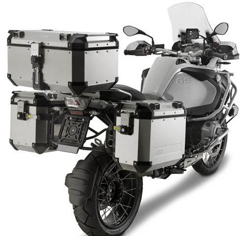 OBK58A mounted 500x480 - GIVI TREKKER OUTBACK 58 ltr
