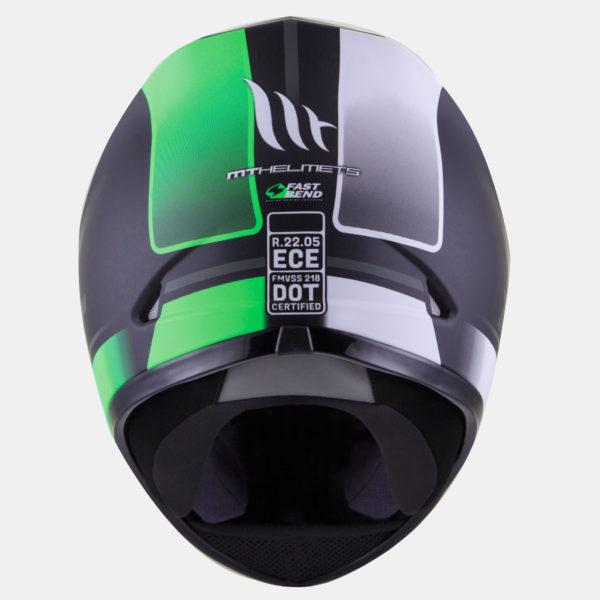 integralna kaciga mt revenge binomy gloss black white green lavado 03 600x600 - MT Revenge Binomy Gloss Black/White/Fluor Green