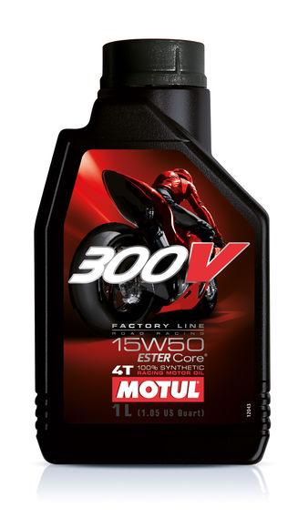 Motul 1L 300V ROAD RACING 15W50 - Motul 300V 4T Factory Line 15W50 1l