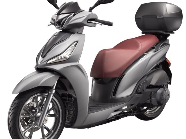 People S kymco scooter