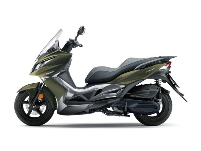 kawasaki  scooter j 300 03