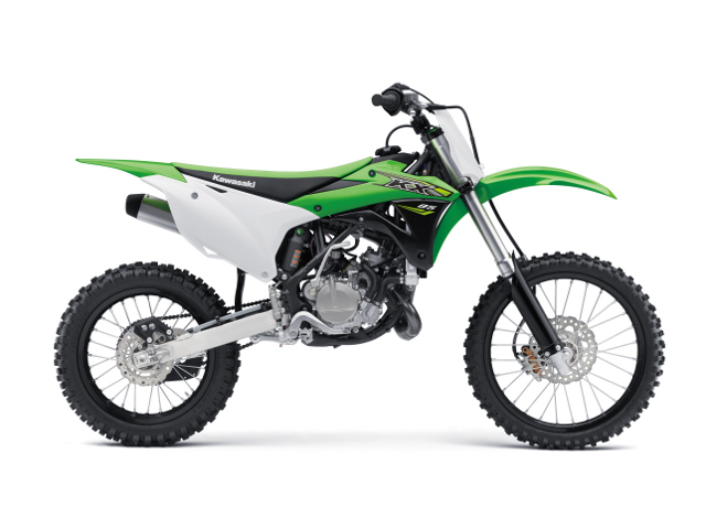 kawasaki klx 85II lavado hr 02