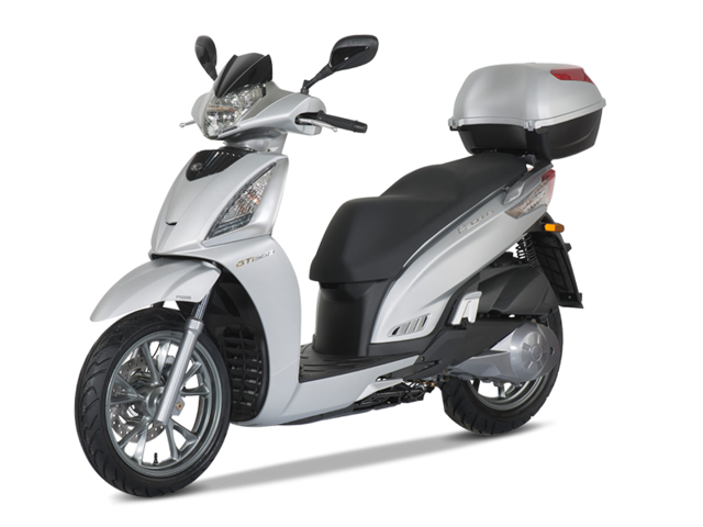kymco people gt i ABS silber lavado