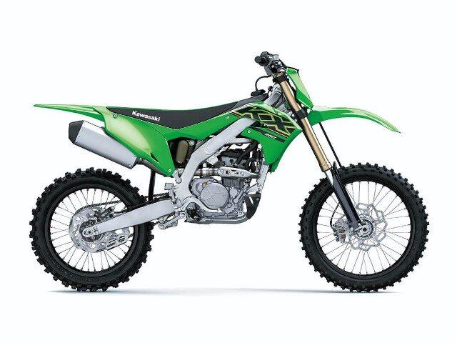 motocikl kawasali kx motocross