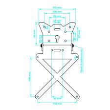 preklopni univerzalni nosač tablice lampa 90144 lavado hr 02