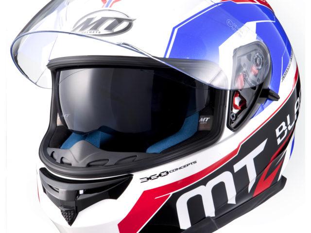 10679 MT Blade SV SuperR Motorcycle Helmet Blue Red White 1600 2