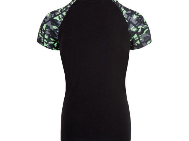 177SPM0900 kawasaki camo ženska majica kratki rukav 01