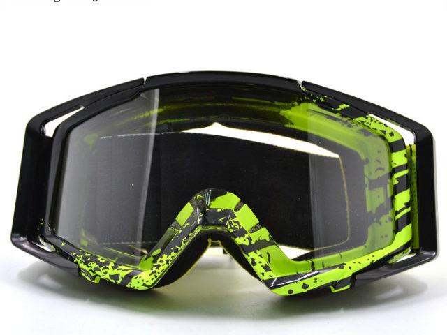 BJMOTO Motocross Goggles Motorcycle googles ATV Eyewear Clear Lens Ski Helmet Googles Off road CRG Brand