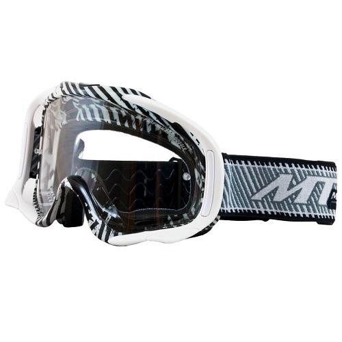 MT Motocross Enduro Goggles White