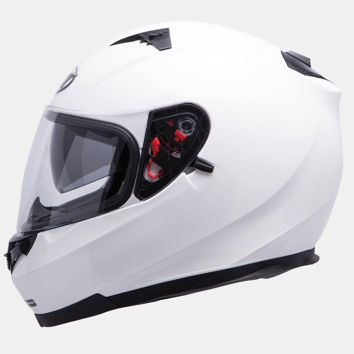 integralna kaciga blade solid white lavado hr 01