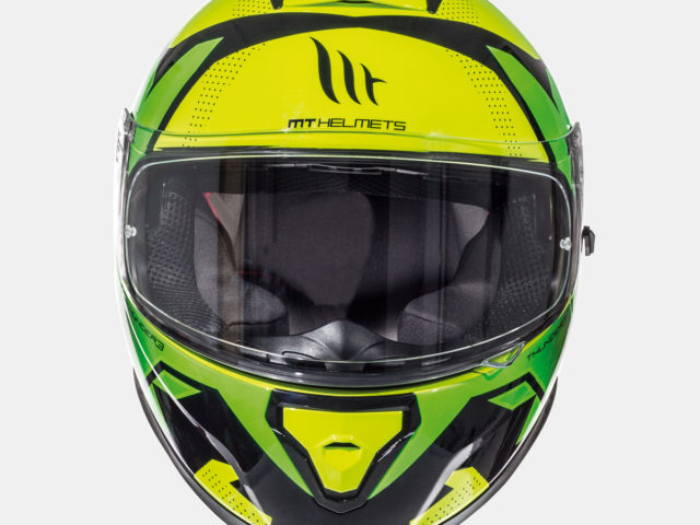 integralna kaciga thunder 3 torn gloss fluor yellow fluor green lavado hr 02