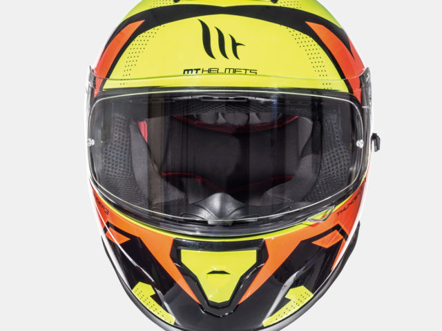 integralna kaciga thunder 3 torn gloss fluor yellow fluor orange lavado hr 03