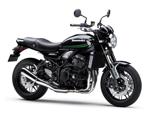 motocikl kawasaki zrs black
