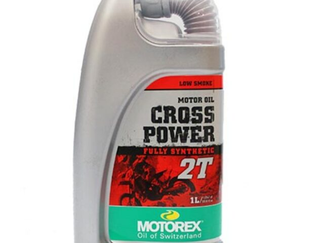 motorex cross power 2t oil 1 litre d34