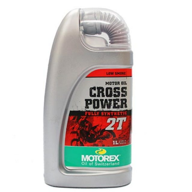 motorex cross power 2t oil 1 litre d34