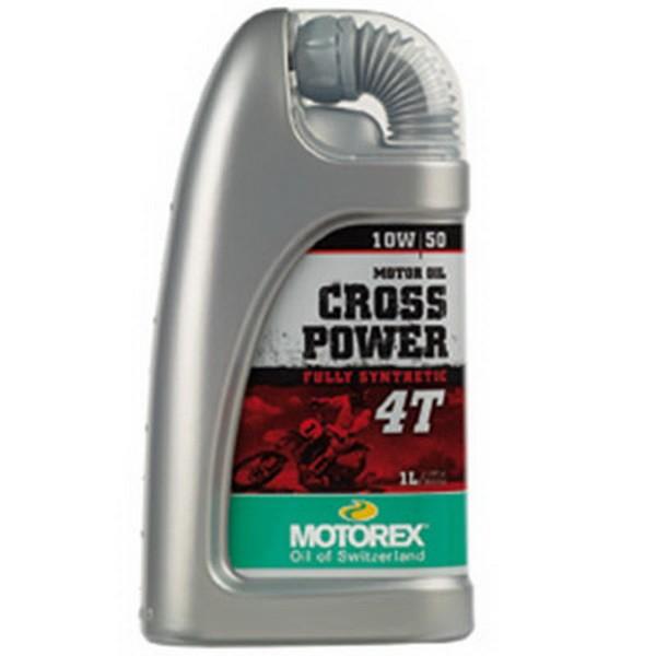 motorex cross power 4t 10w50