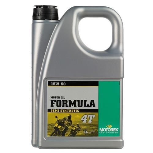 motorex formula 4t oil 15w 50 4 litre cc2