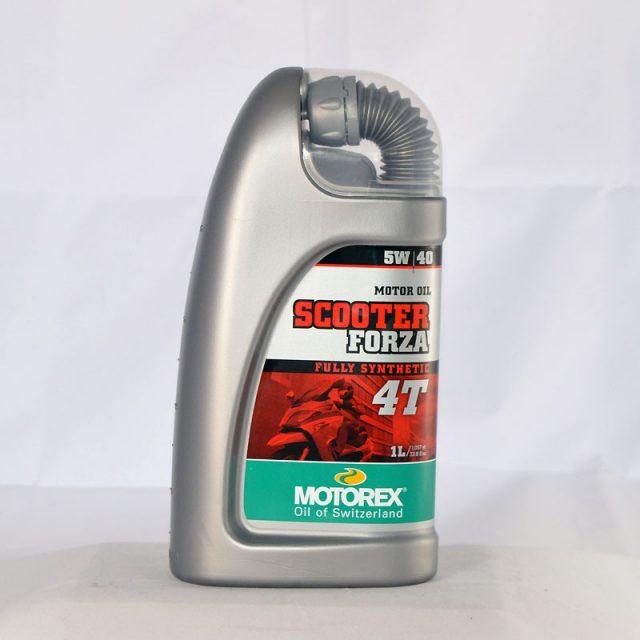 motorex scooter forza 4t 5w40