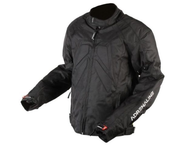 tekstilna moto jakna adrenaline shiro black