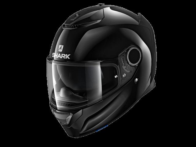 integralna kaciga za motocikl shark spartan carbon black