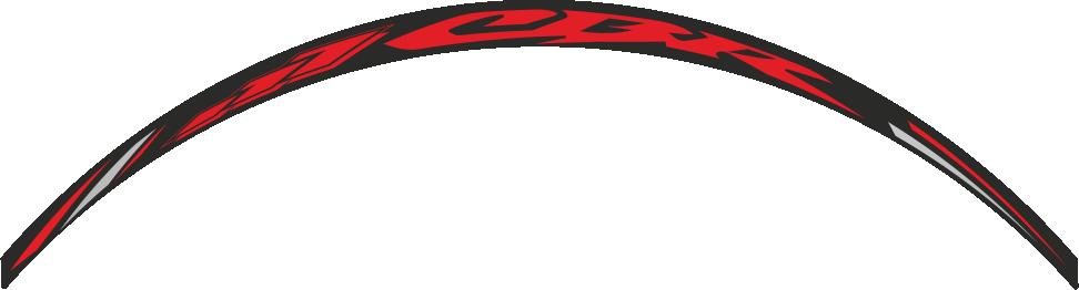 dcw 03 naljepnica za kotače cbr