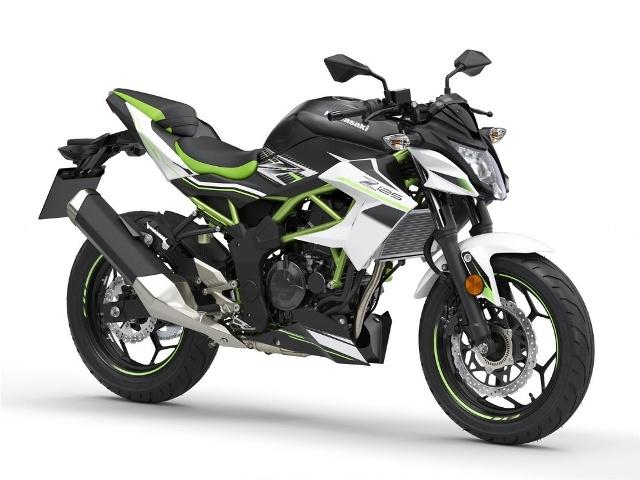 Z125F kawasaki  motocikl 01