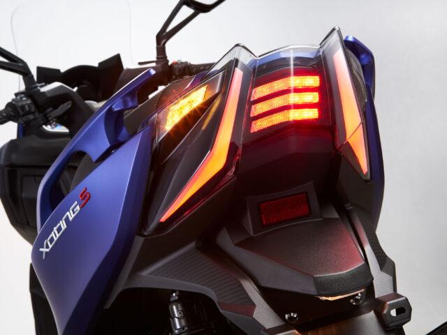 Xciting S 400 lights