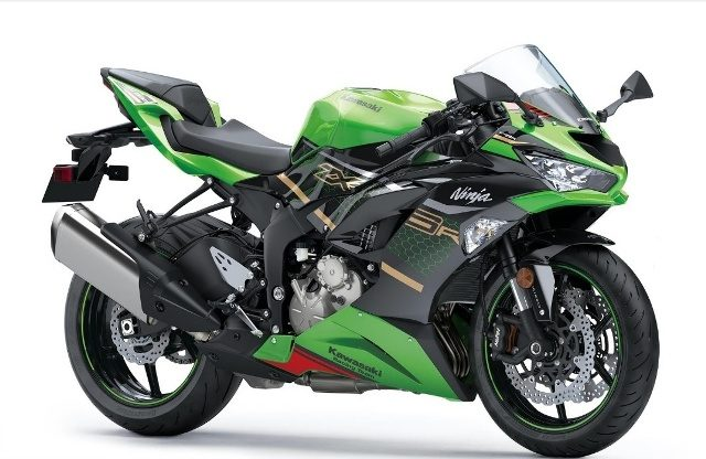 motocikl kawasaki zxr krt