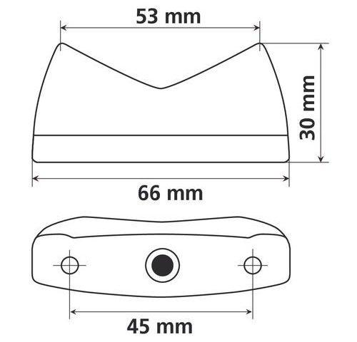 90158 led svijetlo nosača tablice 02