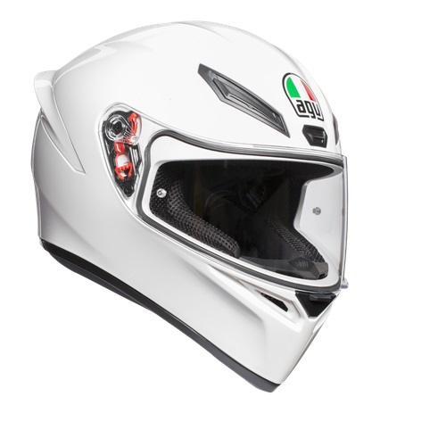 AGV k white integralna kaciga za motocikl