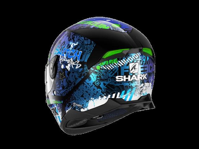 integralna kaciga za motocikl shark skwal switchriders HE