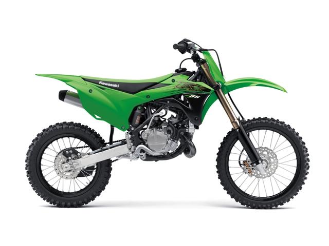 motocikl kawasaki motocross kxII