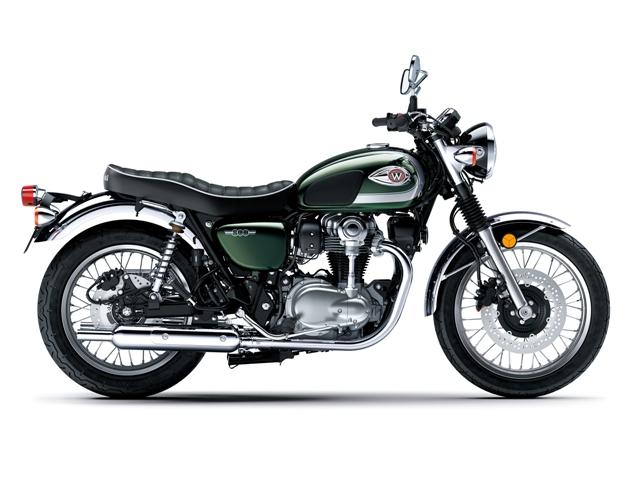 kawasaki motocikl w