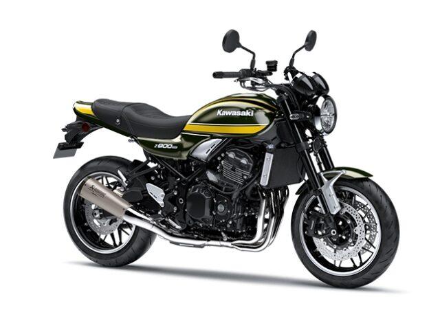 motocikl kawasaki zrs performance