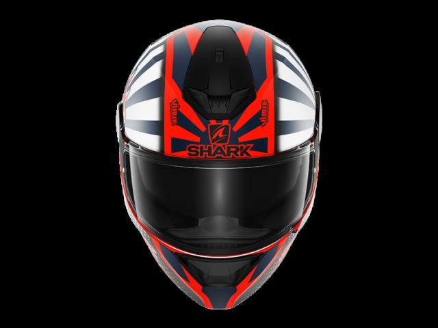 D SKWAL replicazarco mat OWB back HE SHARK integralna kaciga za motocikl