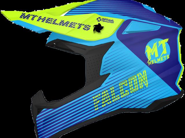 mt helmets off road kaciga falcon