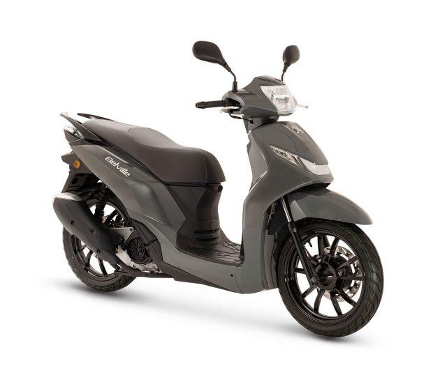 scooter peuegot belville