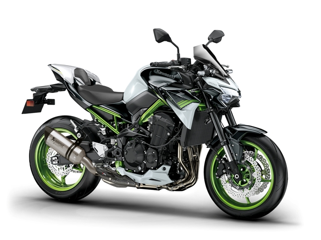 motocikl kawasaki z performance titanium