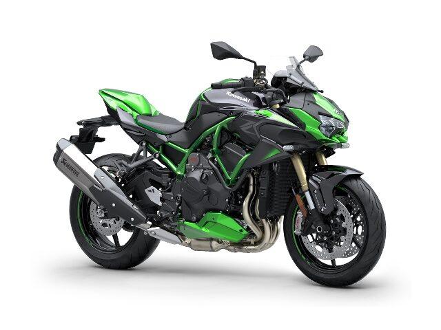 motocikl kawasaki zh se performance