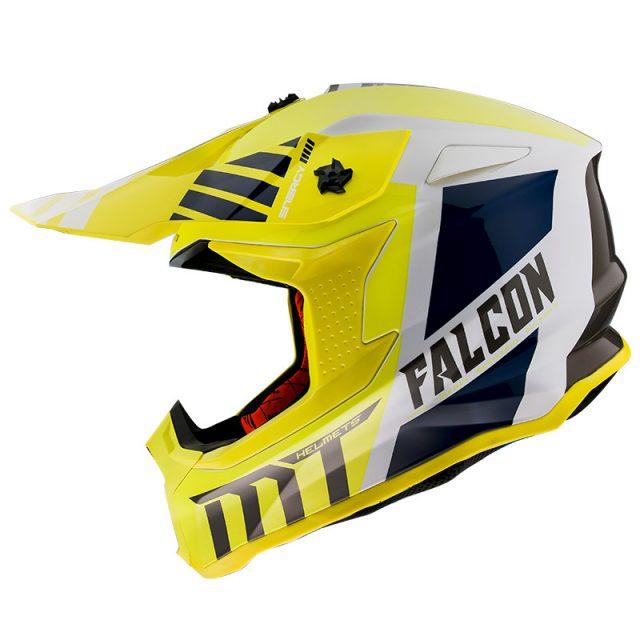 mthelmets falconwarriora giallo