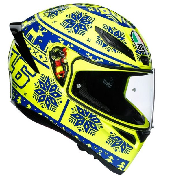 AGV k winter test integralna kaciga za motocikl