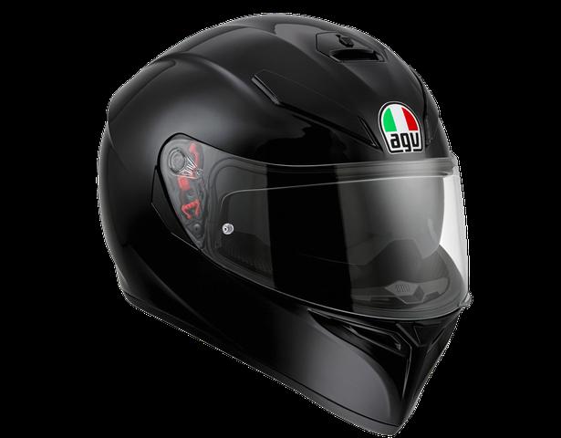integralna kaciga za motocikl agv k black